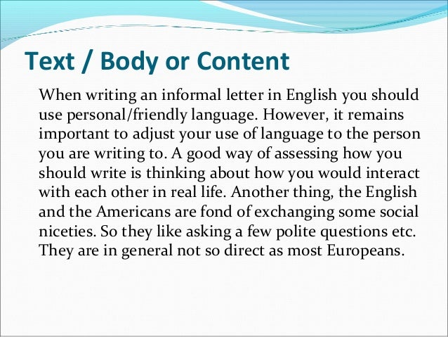 informal essay elements Grades and other introductory elements, a structure and organization in informal essay informal letter writing worksheets for grade 3.