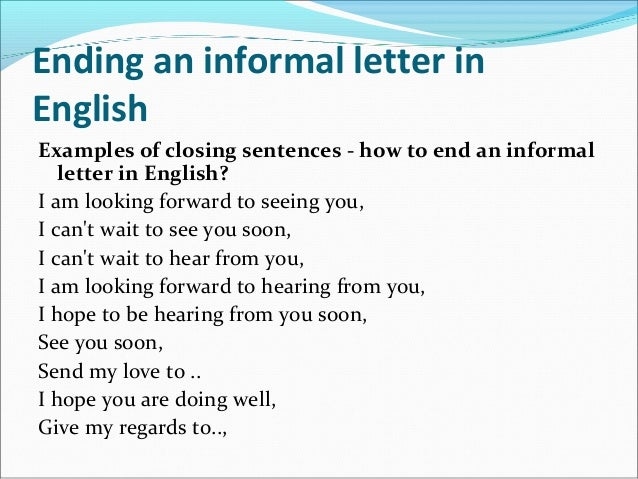 the ultimate informal letter writing guide