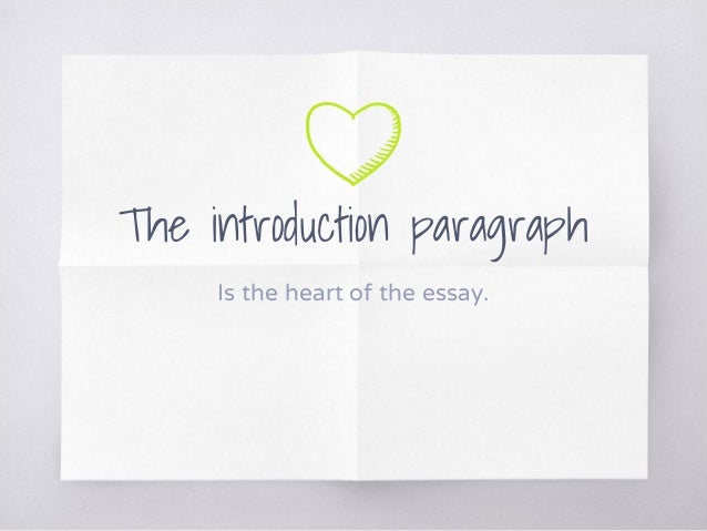 Elements of an Essay - Writing an Introduction Paragraph Slide 2