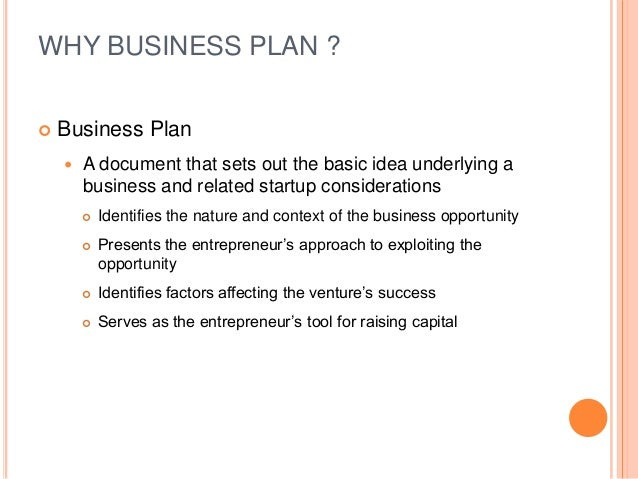 well written business plan sample