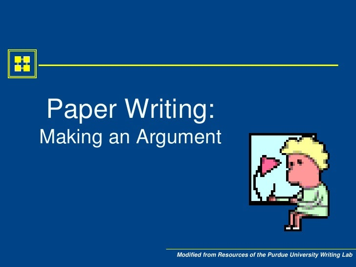 Writing a paper an introduction