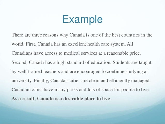 Why is canada a great place to live essay help