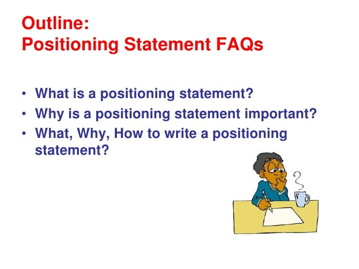 writing a position statement for court