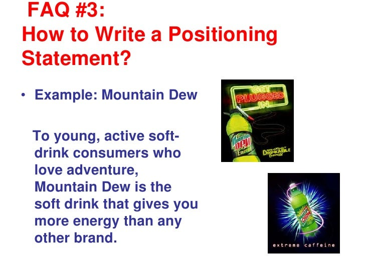 how to write a brand positioning statement essay Find and save ideas about personal brand statement examples on pinterest | see more ideas about mission statements of companies, art essay and personal brand statement.