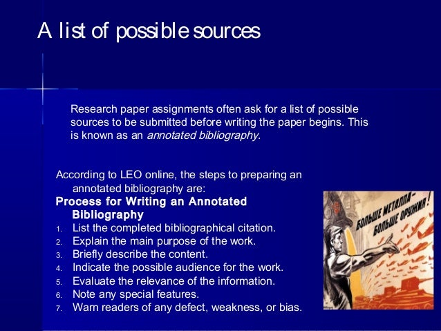 proposal plan and annotated bibliography Annotated bibliography covers sources you used with their history and importance for your research thesis proposal annotated bibliography help: a writing plan.
