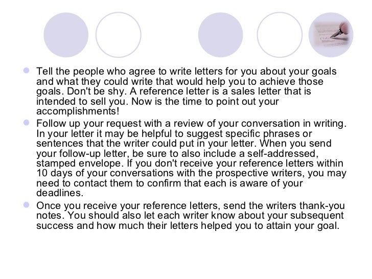 Sample Short Recommendation Letters