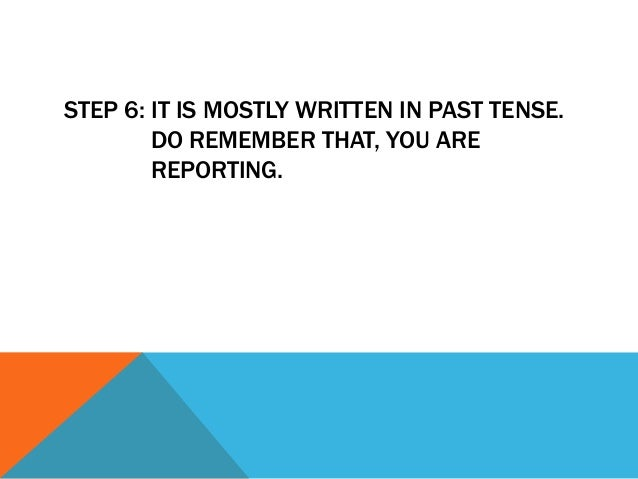 STEP 7: END YOUR REPORT WITH A CLEAR        ENDING, BY MAKING AN INFERENCE/        SUGGESTION.