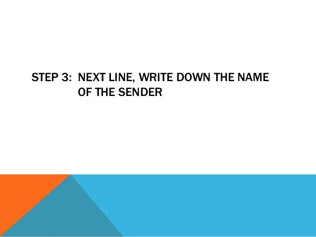 STEP 4: NEXT TWO LINES, THE SUBJECT AND        DATE OF THE REPORT.