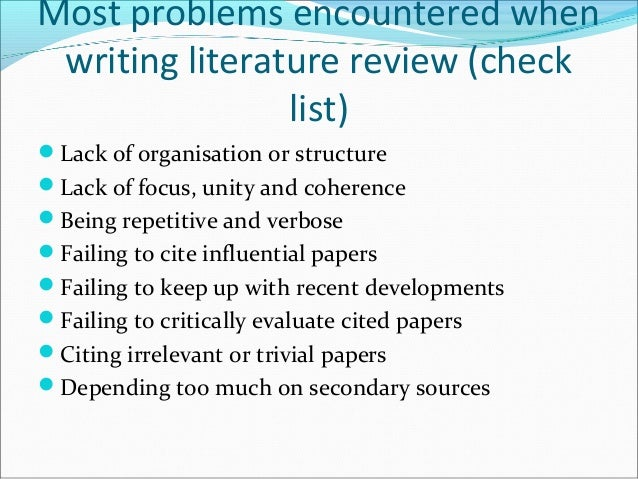 problems encountered in research paper