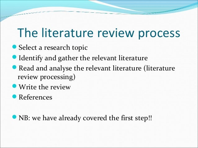 what type of research design is a literature review 99 chapter five research methods: the literature review, conducting interviews and the collection of statistical information 1 introduction.