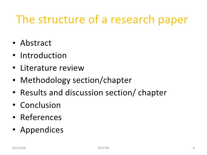 Discussion Section of a Research Paper: Writing Instructions