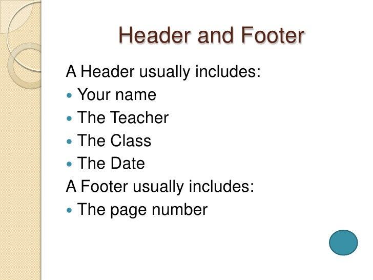 proper way to write an essay heading
