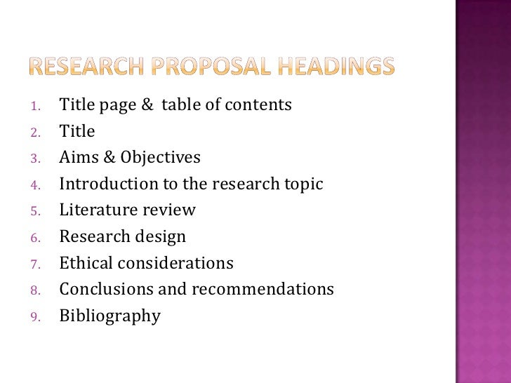 Literature review example with headings
