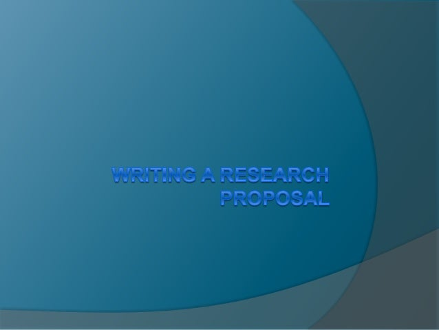 TIPS TO NOTE:  Research Proposal should start with an introduction that opens the reader's mind with what to expect  Hyp...