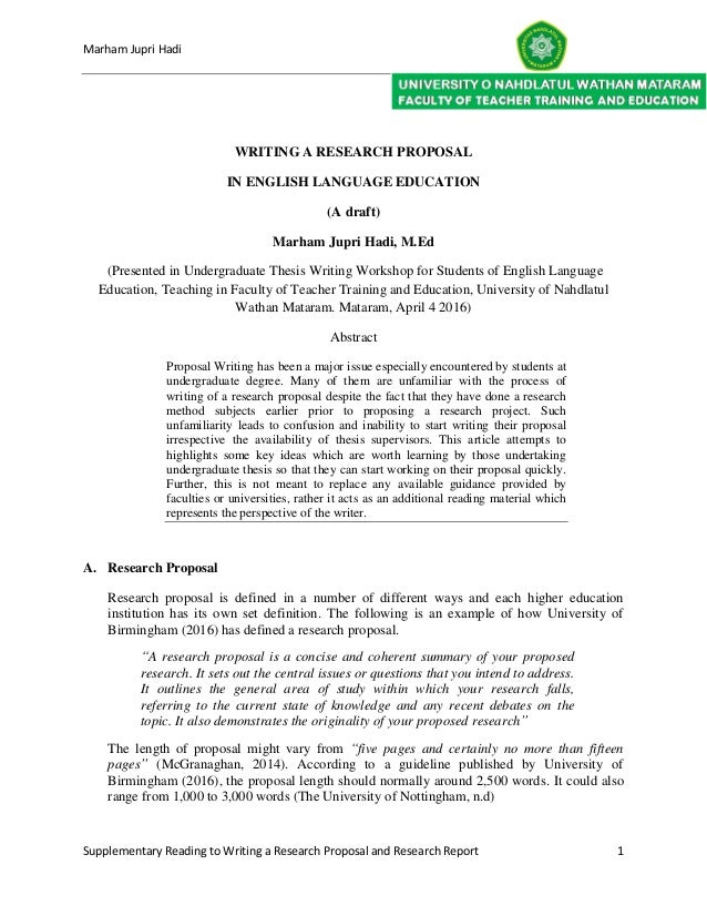 Guidelines for Preparation of the Dissertation Proposal