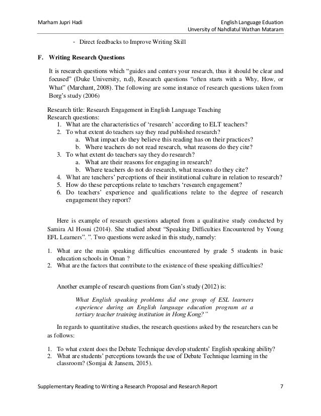 How to write background of the study in research proposal pdf