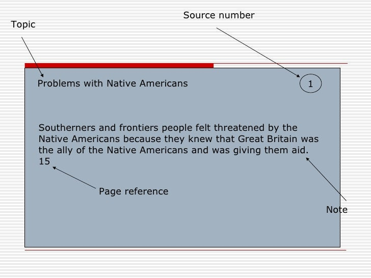 native american thesis