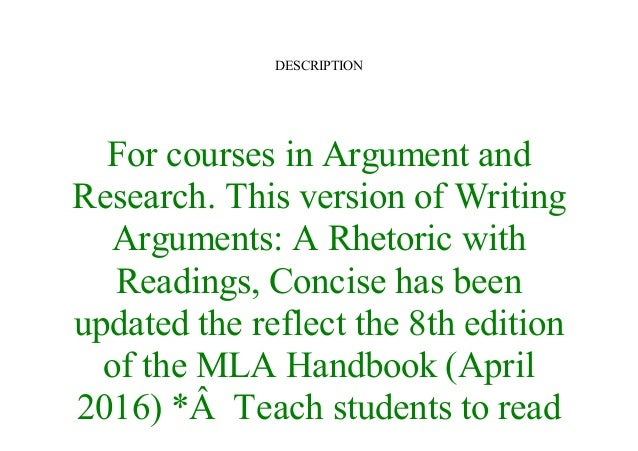mla handbook 7th edition ebook