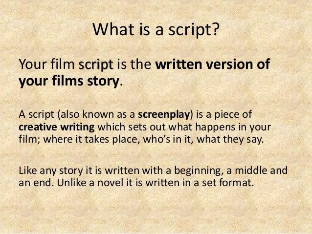 Groß Film Behandlungsvorlage Bilder - Dokumentationsvorlage Beispiel ...