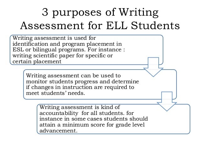diagnostic writing assessment elementary