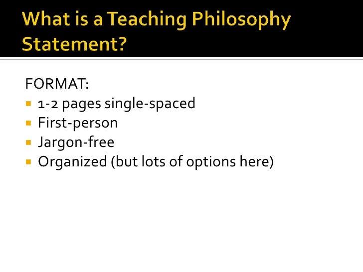 Teaching Statements