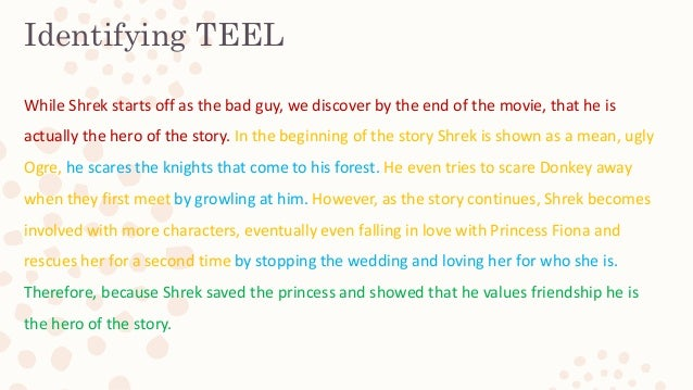 teel essay structure link Describes how to use peel (point, evidence, explain, link) when writing paragraphs for an essay-- created using powtoon -- free sign up at http://www.