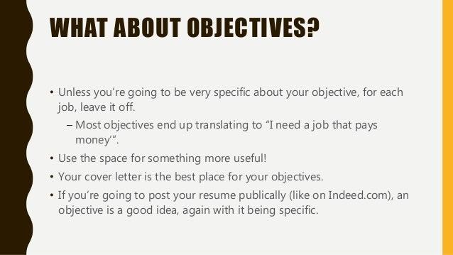 5 post resume on indeedcom