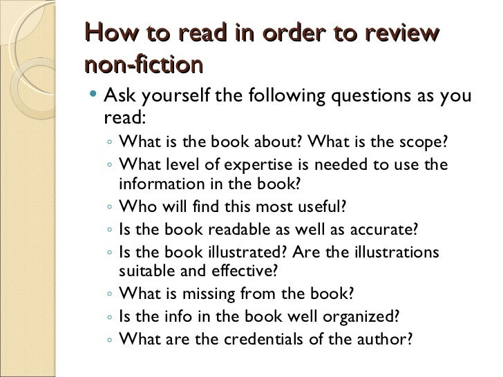 How to Write a Nonfiction Book?