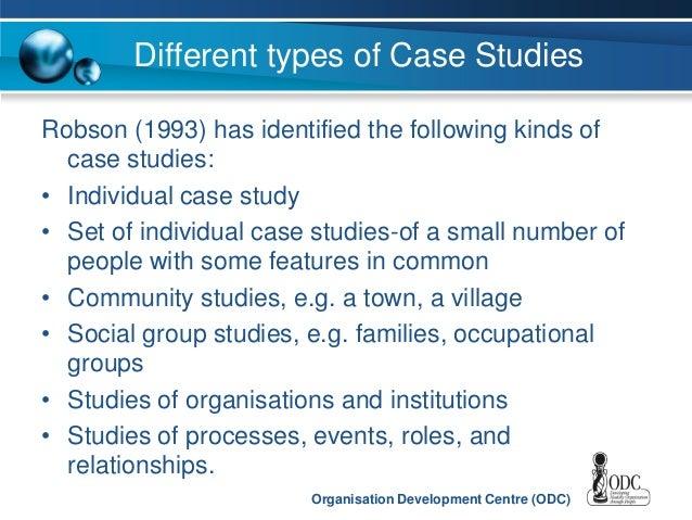 Different Types Of Case Studies