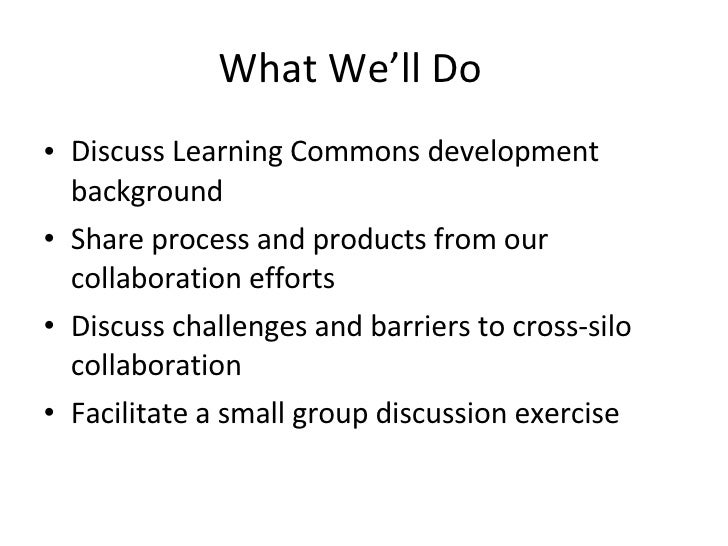 Writing Center And Library Collaboration Slide 2