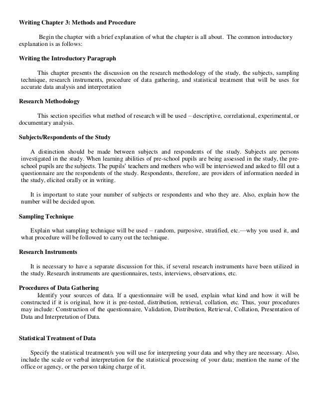 Data analysis part dissertation