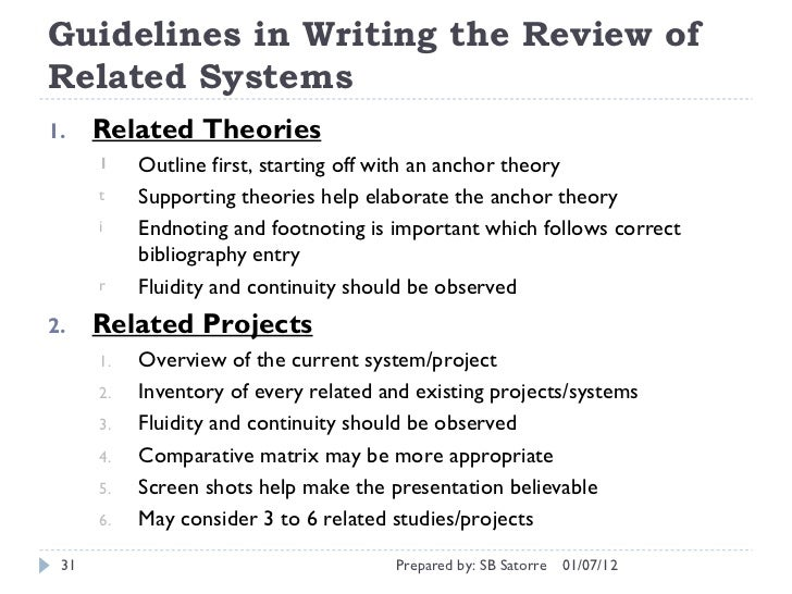 module p58836 literature review