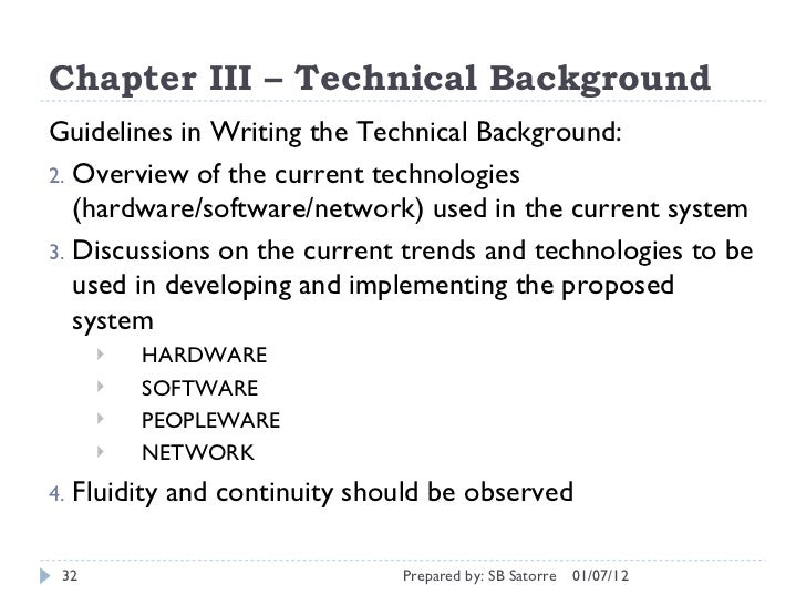 SlideShare  Example Of Project Proposal Used