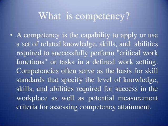 Writing competencies SlideShare