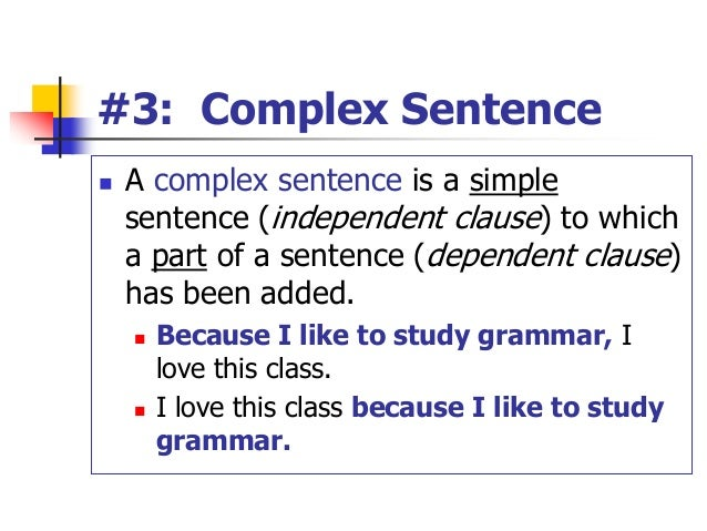 writing complex sentences A writer who can write effective complex sentences with correctly placed commas is on their way to writing quality paragraphs and essays.