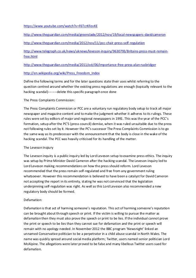 https://www.youtube.com/watch?v=F6TcrKFevKE http://www.theguardian.com/media/greenslade/2012/nov/19/local-newspapers-david...