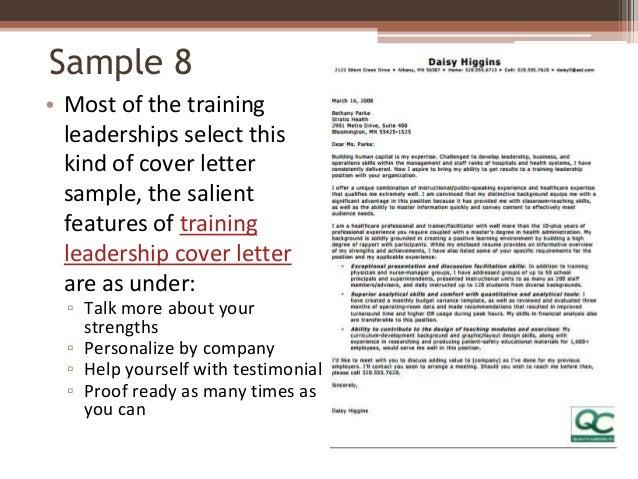 testimonial cover letter