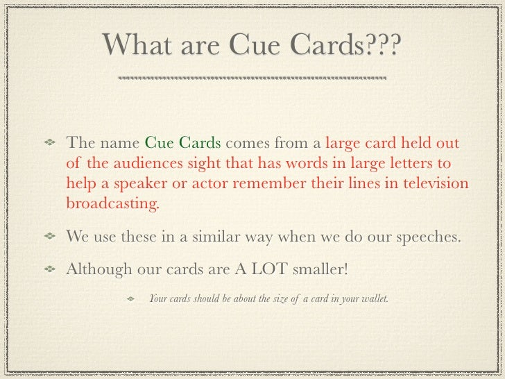 how to make cue cards Greatschools worked with the yale center for emotional intelligence to bring you the parenting parenting cue cards your child can make a time card to.
