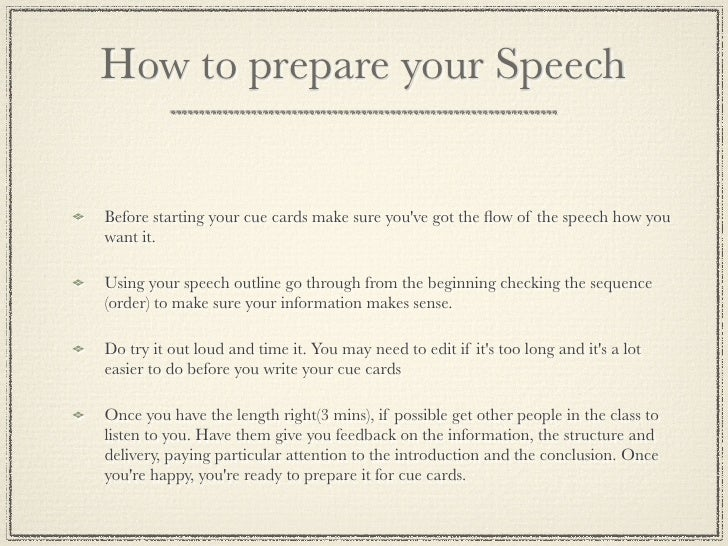 how do you write a speech How to make a good speech for school  to write a good speech, you will need to work on  deliver your speech to a mirror until you can do it without.