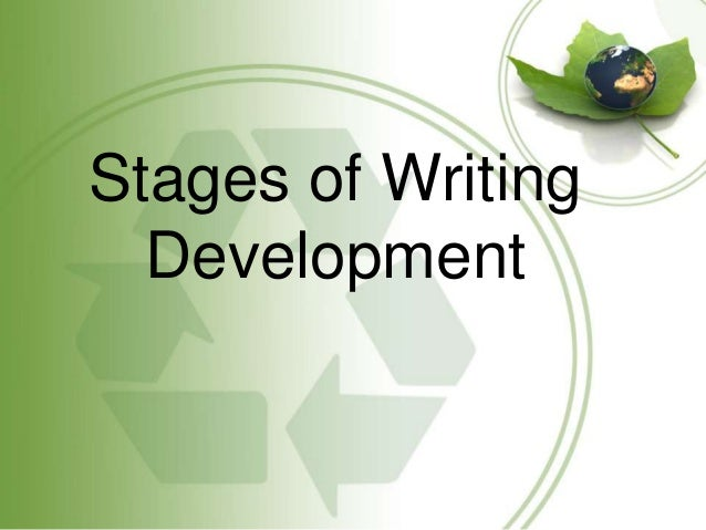Writing development through literature : Stages and Elements of