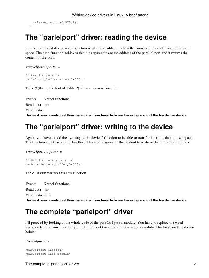 Windows driver code samples