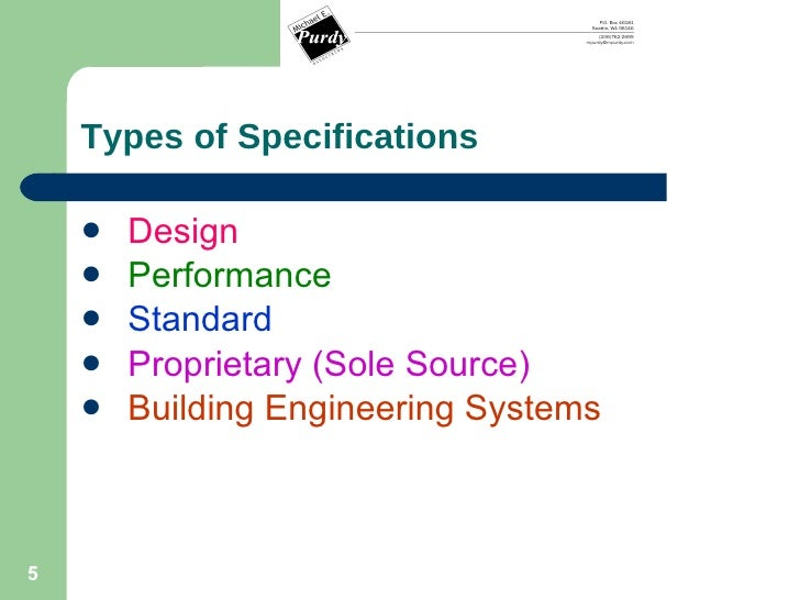 writing a technical specification