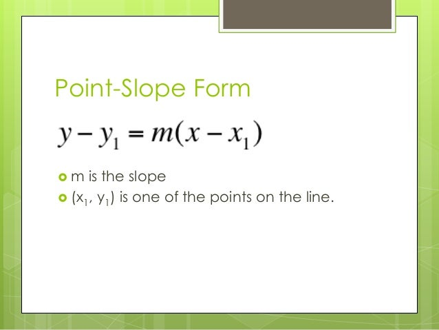 how to find equation of line given 2 points