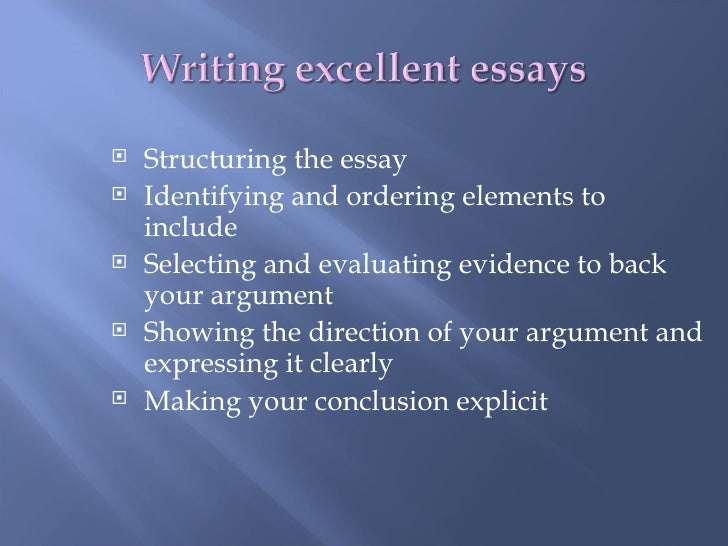 essay on excellence When you set goals  when i started my blog personal excellence years ago, i set goals such as to complete a certain number of articles a week.