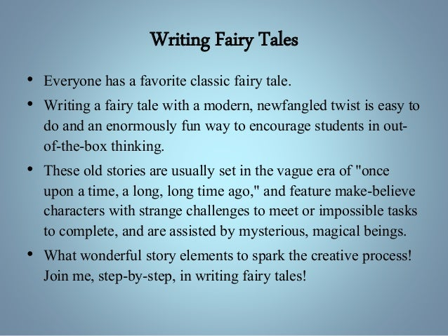 fairy tale essay 300 words