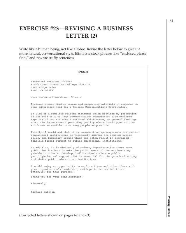 Writing+fitness+ +practical+exercises+for+better+business+writing