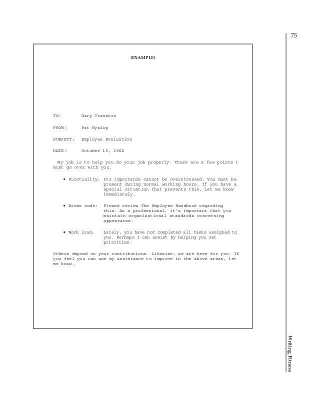 how do you write a memorandum