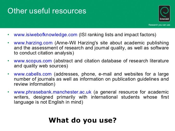 write science research paper results section