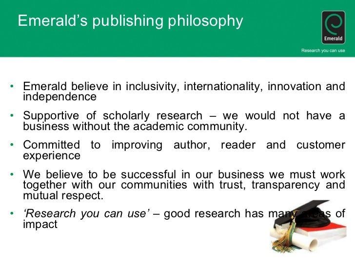 scholarly environment research papers
