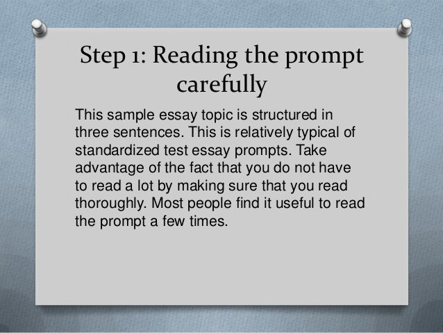 Two paragraph essay